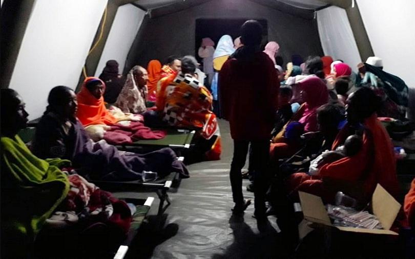 загинали силното земетресение индонезия