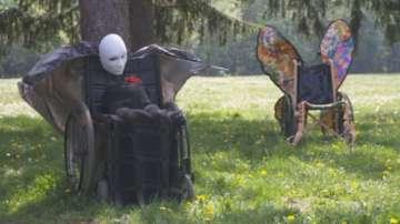 Инвалидни колички се превърнаха в произведения на изкуството