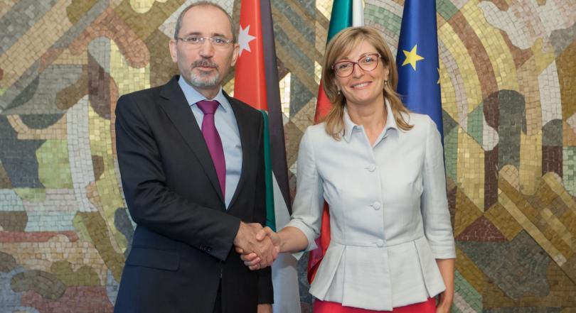 Йордански външен министър за първи път у нас - по