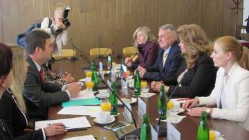 Посещение на вицепрезидента Илияна Йотова в Чехия