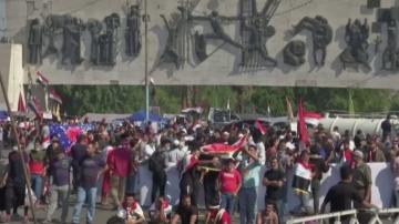 Осми пореден ден на протести в Ирак