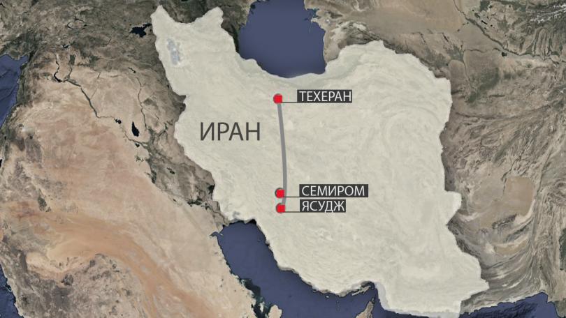 Няма оцелели при разбилия се в провинция Исфахан самолет с