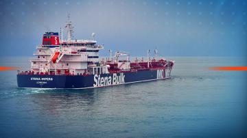 За Великобритания задържането на два плавателни съда от Иран е недопустимо