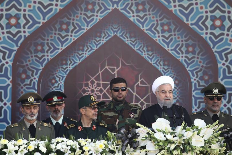 Военен парад в Иран