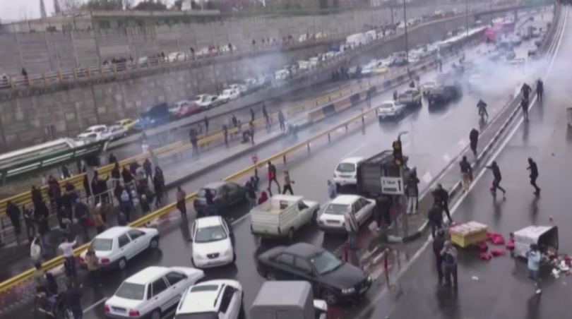 Иранският президент Хасан Рохани обяви, че уличните протести са били
