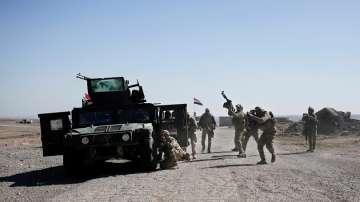 Минирани участъци забавят офанзивата срещу джихадистите в Мосул