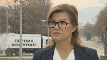 Ирена Соколова: Не е вярно, че съм забавила въвеждането на воден режим в Перник