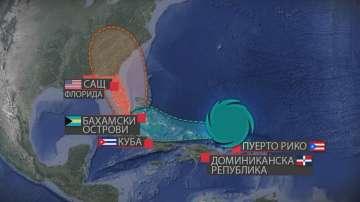 """Какъв ще е пътят на най-продължителния циклон в историята """"Ирма""""?"""