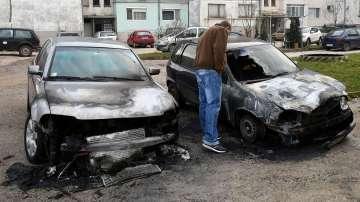 Запалиха два автомобила в Исперих