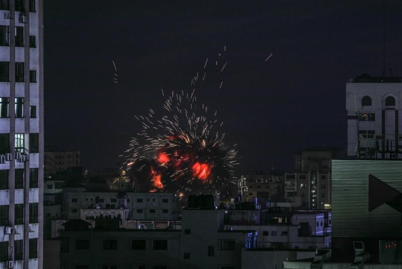 Трима палестинци загинаха при ракетен обстрел между Израел и Ивицата Газа