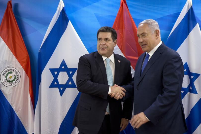 И Парагвай откри посолство в Ерусалим
