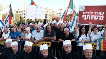 Протести на израелски друзи срещу закона за националната държава