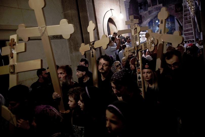 снимка 2 Православният свят отбелязва деня на Христовите страдания