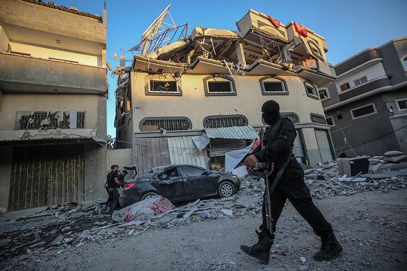С прецизно насочен удар в ивицата Газа Израел ликвидира Баха