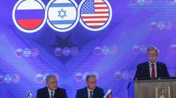 Тристранна среща за сигурността в Израел