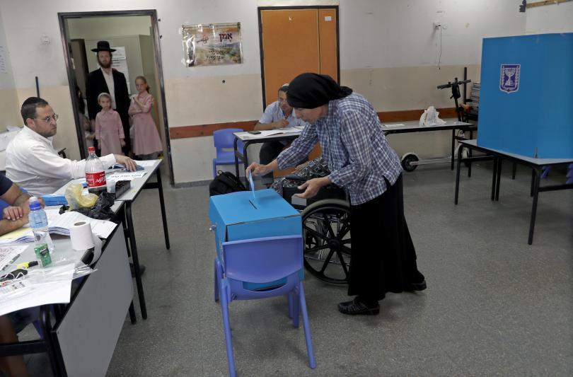 снимка 2 В Израел се провеждат предсрочни парламентарни избори
