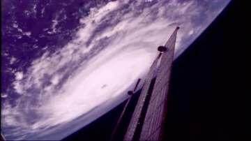 """Уникални кадри на урагана """"Ирма"""" от Космоса (ВИДЕО)"""