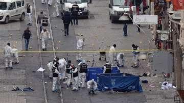 Самоубийствен aтентат в центъра на Истанбул