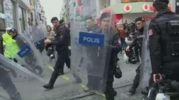 Безредици на кюрдската Нова година в Истанбул