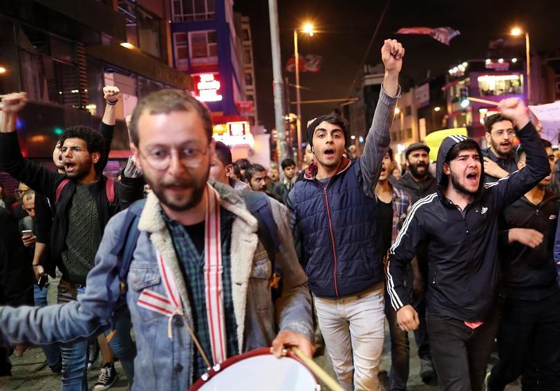 Протести в Турция срещу анулирането на резултатите от местните избори