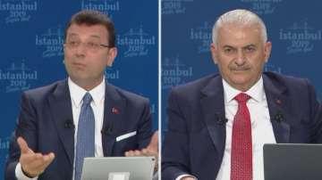 Кандидатите за кмет на Истанбул в телевизионен дебат