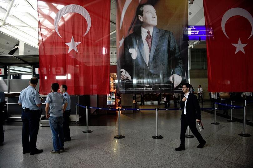 """Летище """"Ататюрк"""", Истанбул"""