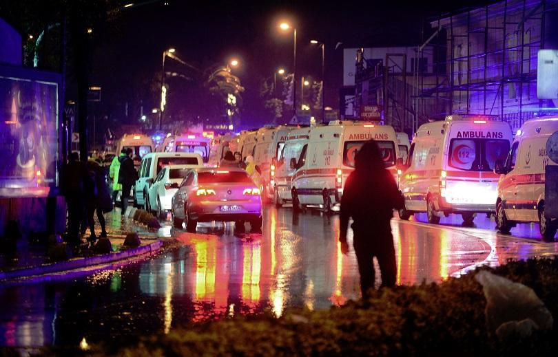 убит екстремист свързан нападението турския нощен клуб нова година