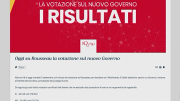 Привърженици на Пет звезди одобриха новата коалиция в Италия