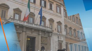 Намалиха броя на депутатите в Италия