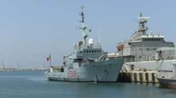 Италиански военен кораб ще помага на Либия за мигрантите