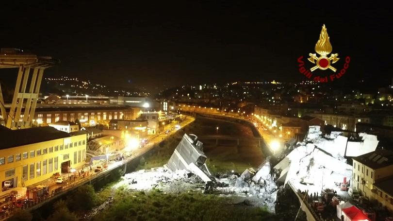 Италианското правителство започва проверки на стари мостове и тунели в