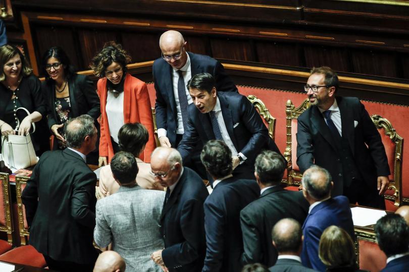 Новото италианско правителство спечели втори вот на доверие, този път