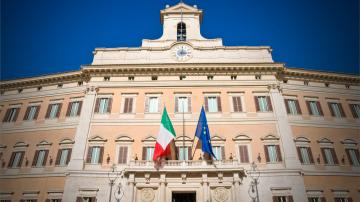 Коалиционното правителство на Италия положи клетва