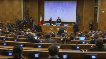 Италианският парламент се разпуска