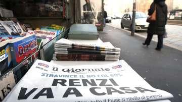 Президентът на Италия помоли Ренци да отложи подаването на оставката