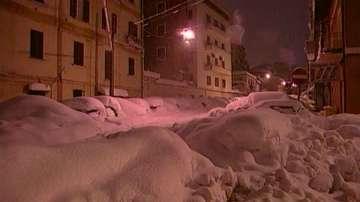 Студеното време създава сериозни проблеми в Италия