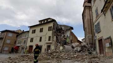 Един човек е починал от инфаркт след силните земетресения в Италия