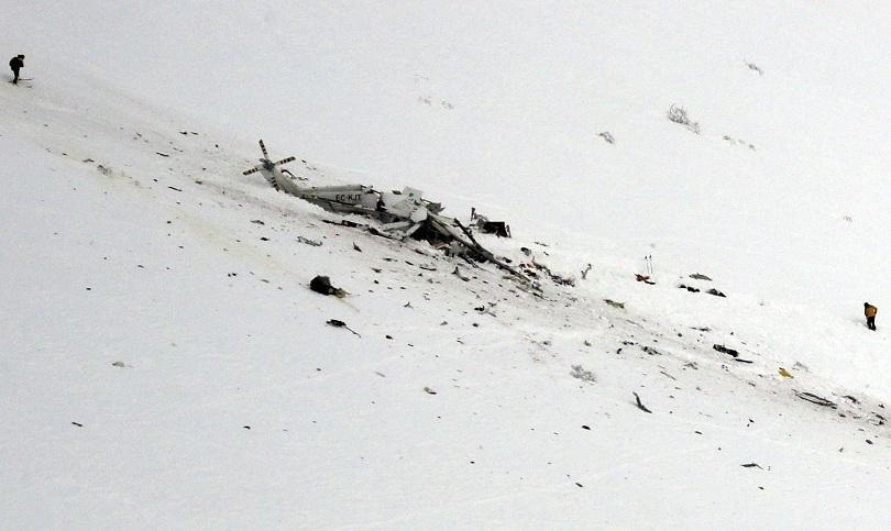 шест души загинаха катастрофа хеликоптер италия