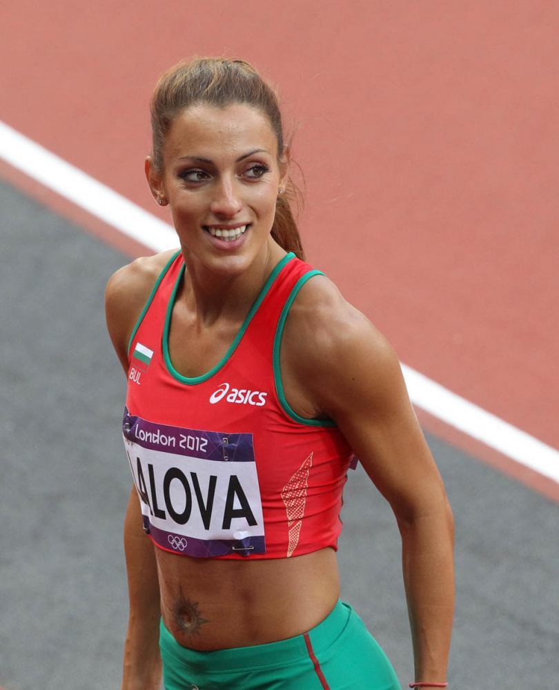 снимка 1 Ивет Лалова се класира за полуфиналите на 200 метра
