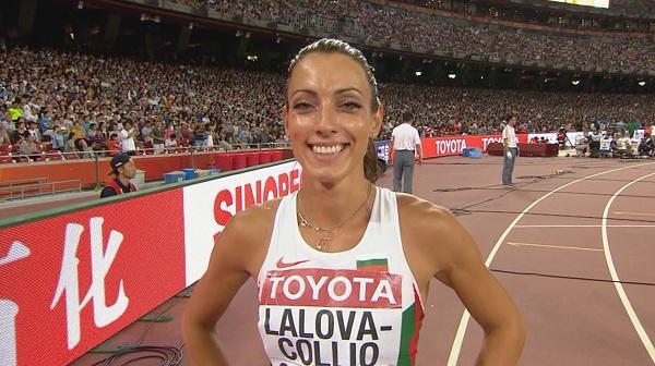 Ивет Лалова се класира за полуфиналите на 200 метра