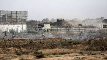 Десетки палестинци пострадаха в сблъсъци на Ивицата Газа