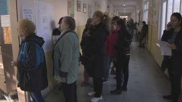 Ниска избирателна активност в столицата