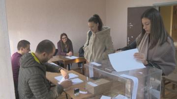Ниска избирателна активност в Студентски град