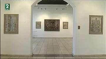 Хартиени икони и пана от Йерусалим в Градската художествена галерия във Варна