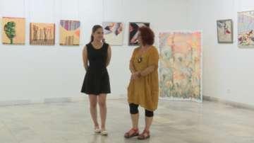 Изложба на картини от текстил