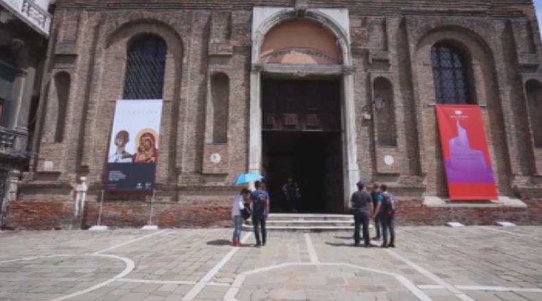лиляна павлова откри изложбата пазители венеция