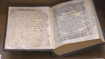 Изложба с ценни книги и документи в Националната библиотека