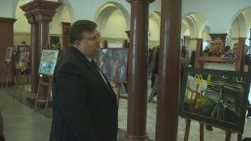 За първи път изложба в Съдебната палата