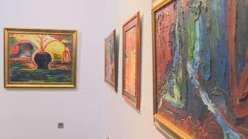 Изложба на Никола и Добромир Манев