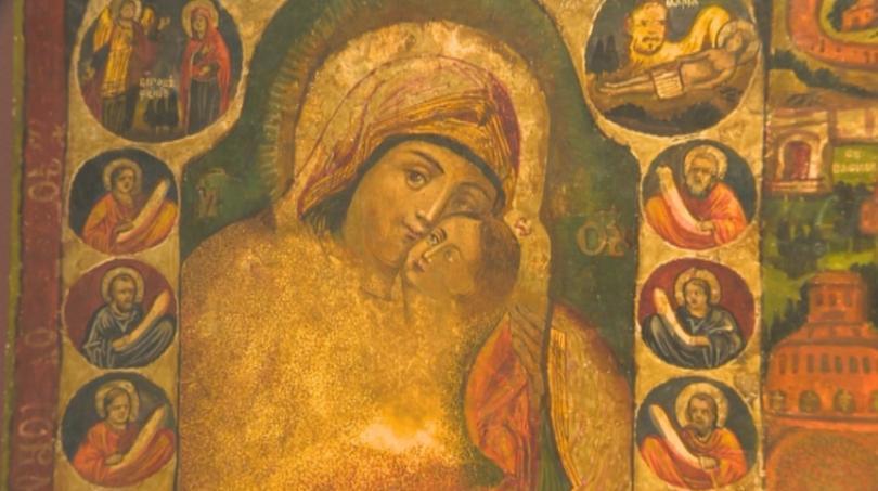 снимка 1 НИМ с изложба на християнско изкуство в Третяковската галерия в Москва